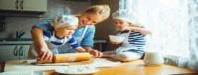Learn how to cook with children